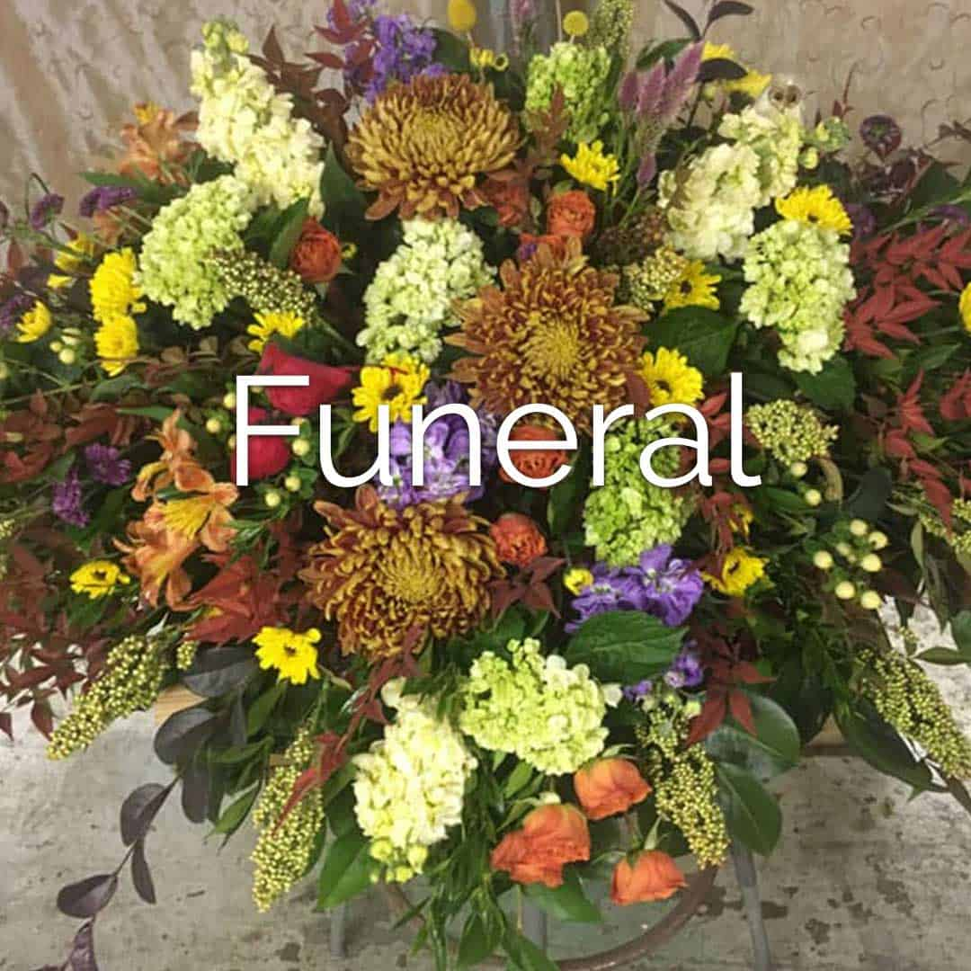 Need flowers for funeral